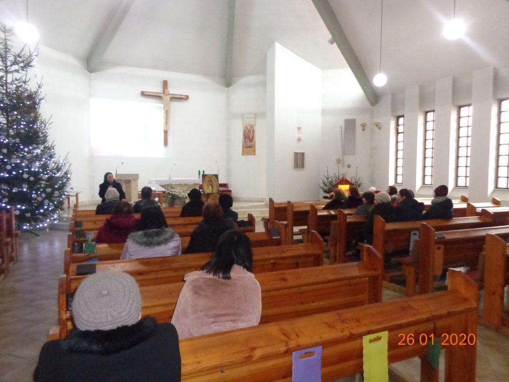 Návšteva vo farnosti Kolačno a požehnanie kaplnky PM