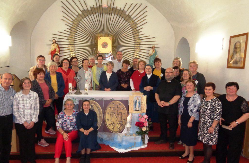 Duchovné cvičenia a stretnutie koordinátorov v Hronskom Beňadiku