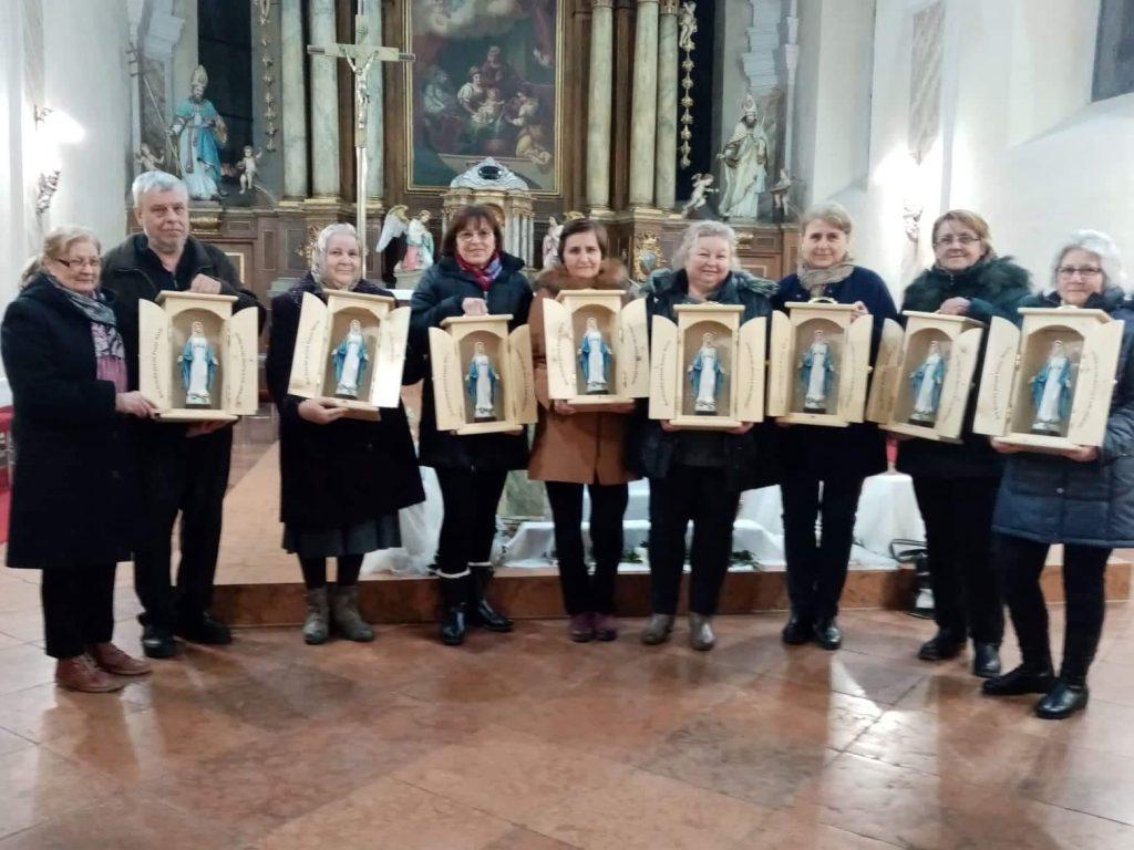Návšteva vo farnosti Nová Baňa a požehnanie kaplnky PM