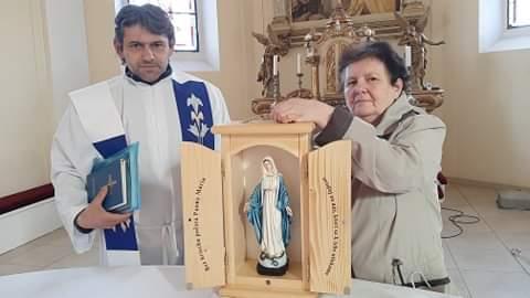 Požehnanie kaplnky v Žarnovici
