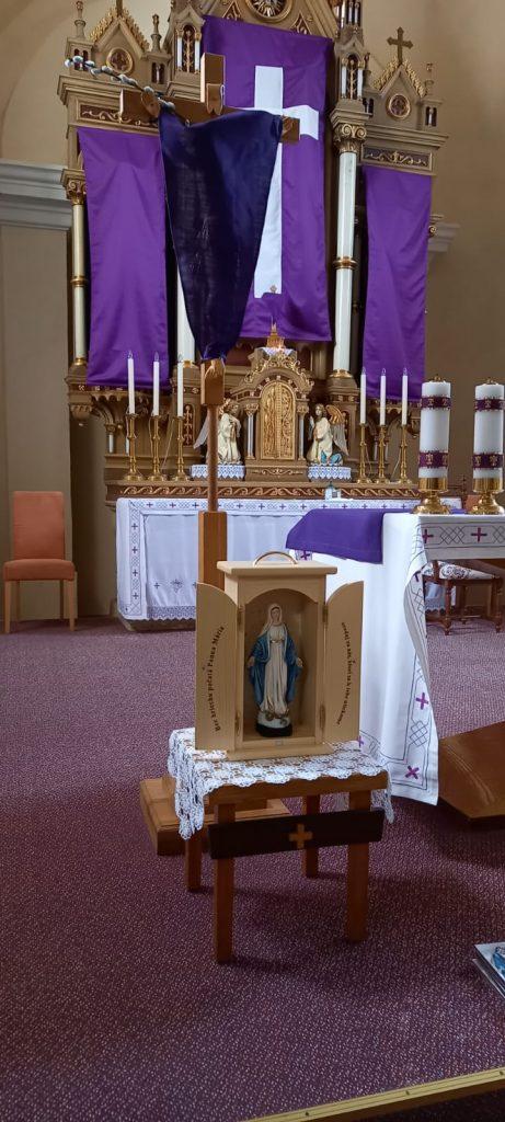 Požehnanie kaplnky v Hornom Vadičove
