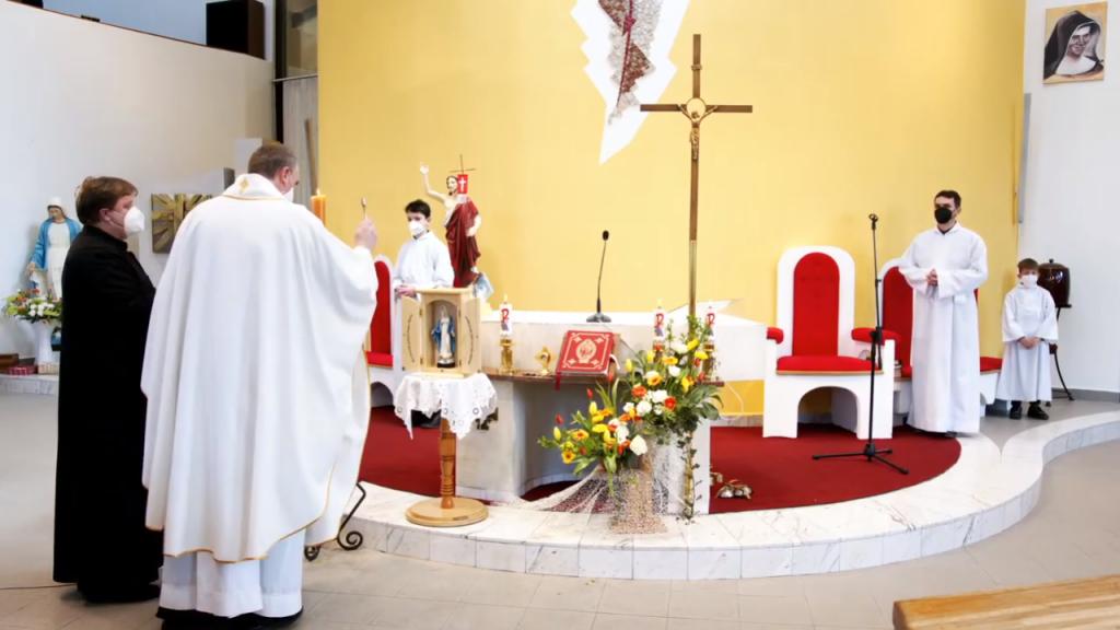 Požehnanie kaplnky vo Zvolene