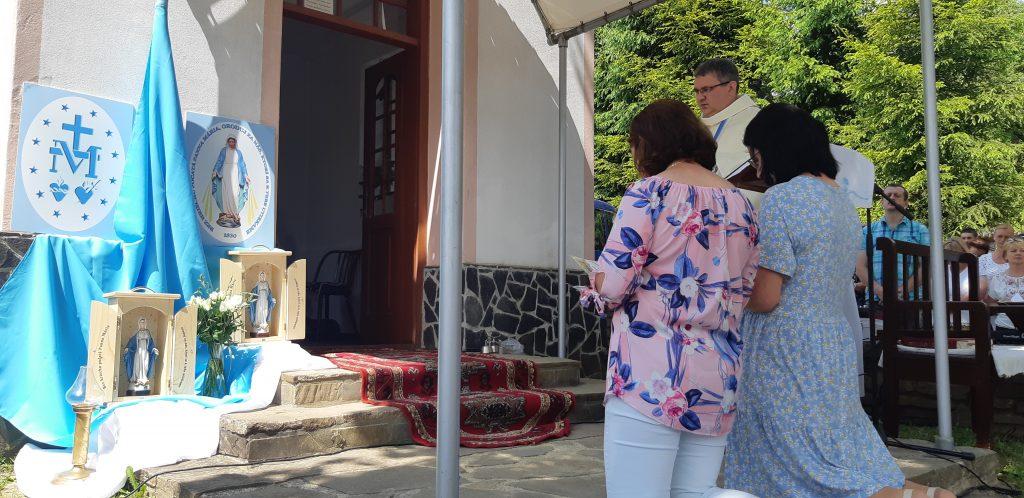 Požehnanie kaplniek v Chlebniciach