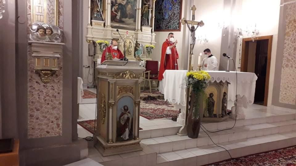 Požehnanie kaplnky vo farnosti Tekovská Breznica